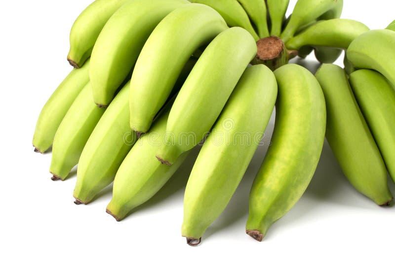 Comp del plátano del verde amarillo foto de archivo