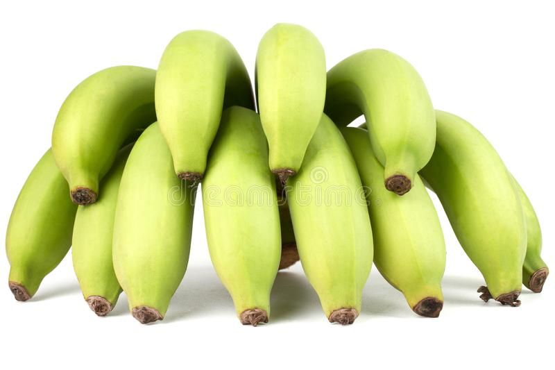 Comp(s) verdes da banana fotos de stock royalty free