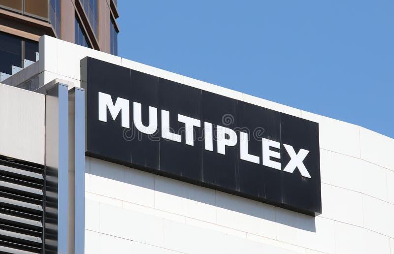 Compañía de desarrollo múltiplex Australia imágenes de archivo libres de regalías