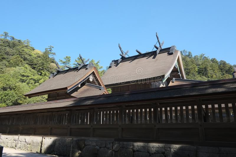 compañía grande de Izumo Taisha imagen de archivo libre de regalías