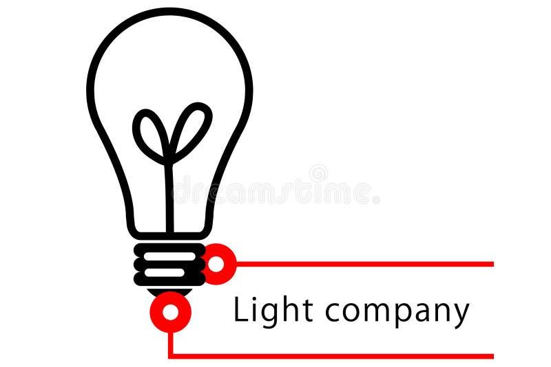 Compañía ligera ilustración del vector