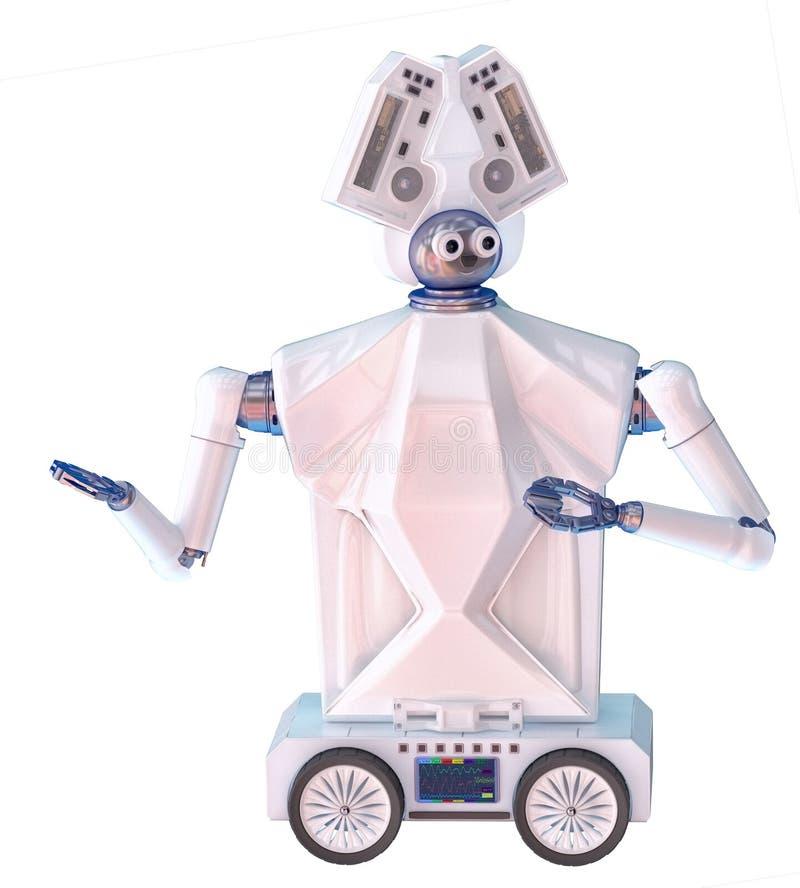 Compañero del robot de la atención sanitaria imagen de archivo libre de regalías