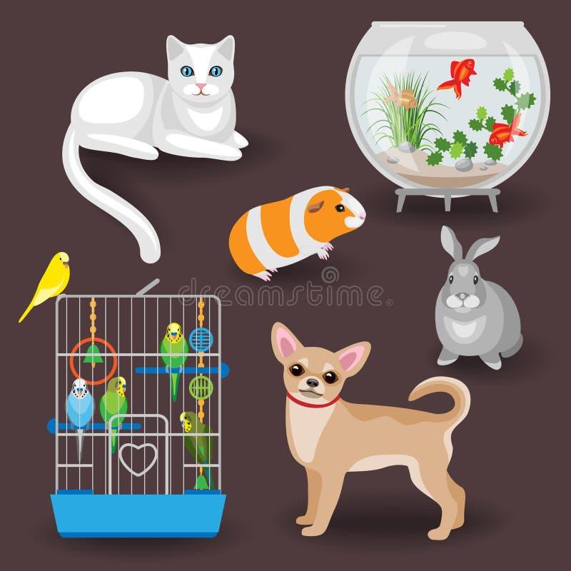 Compañeros animales libre illustration