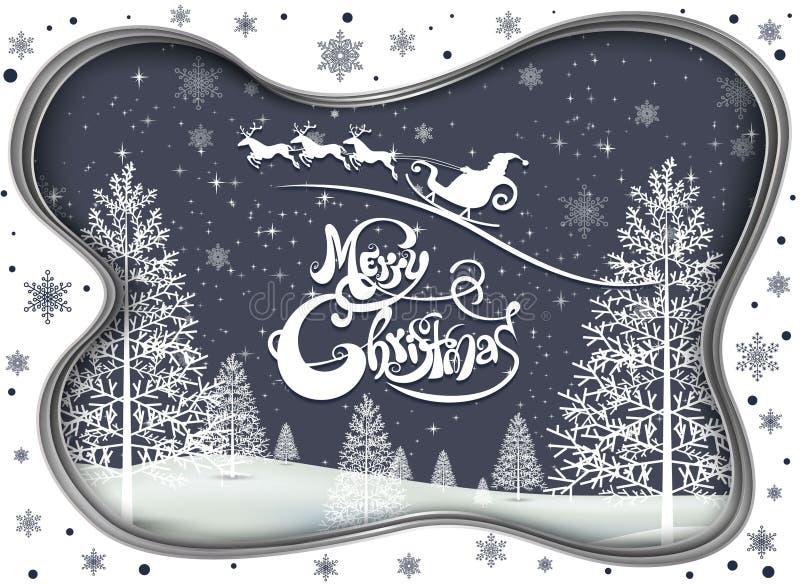 Compañeros de la Feliz Navidad feliz y de la Feliz Año Nuevo libre illustration