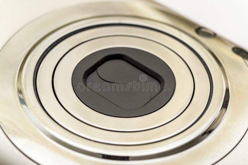 Compact Camera Lens stock photography