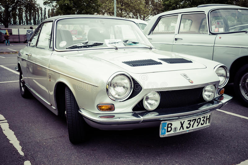 Compact Coupe Simca 1200S stock images