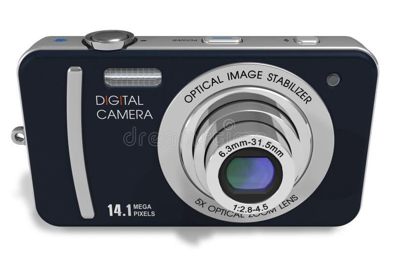 Download Compact digital camera stock illustration. Illustration of equipment - 17681457