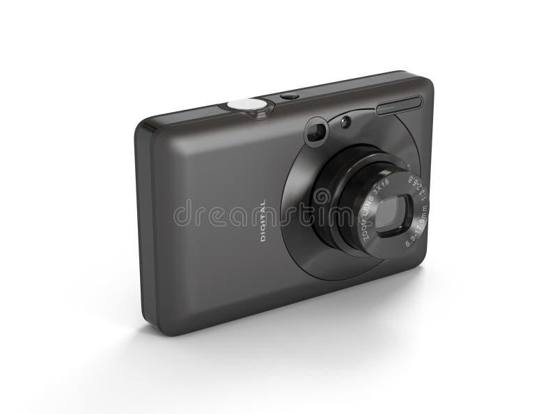 Download Compact Digital Camera stock illustration. Illustration of acute - 26720537