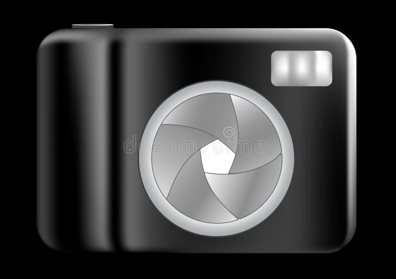 Compact digital camera royalty free illustration