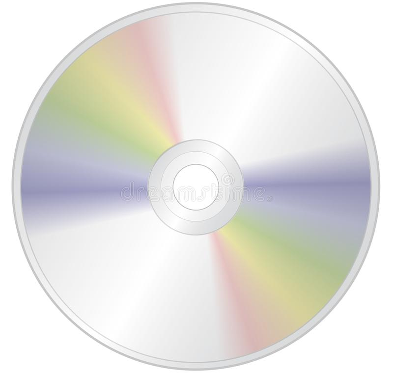 Compact disc royalty free illustration