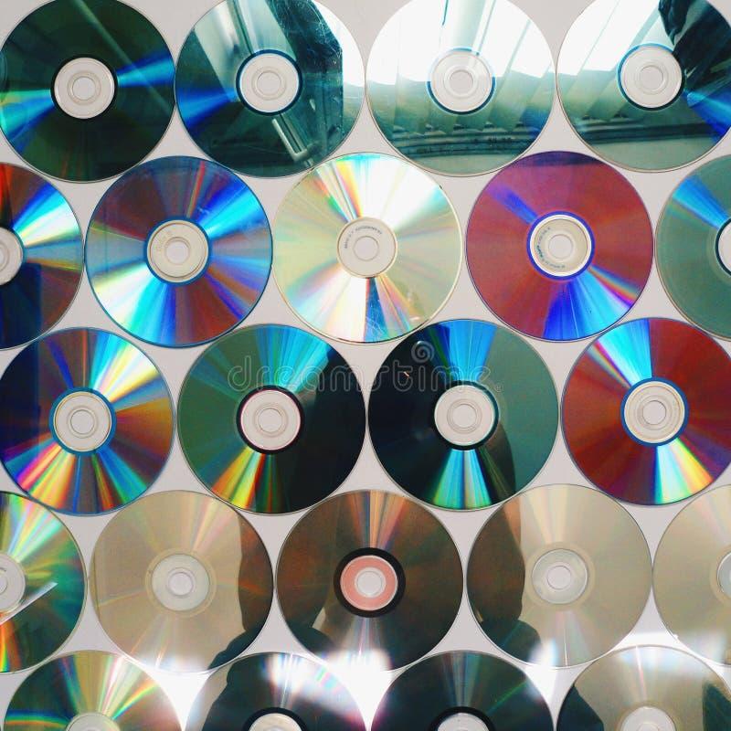 compact disc di musica immagini stock