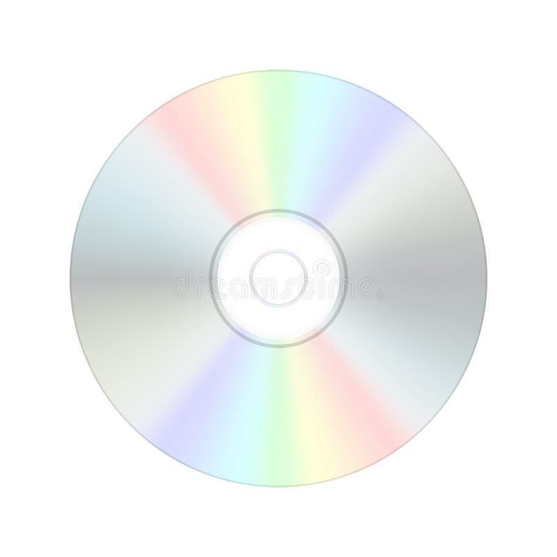 Compact disc digital do CD. ilustração do vetor