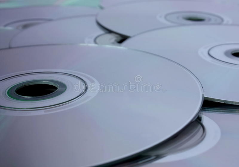 Compact-discs royalty-vrije stock afbeeldingen