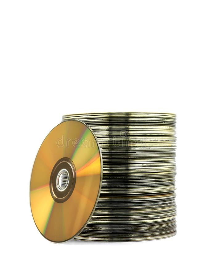 Free Compact Discs Royalty Free Stock Photography - 12689487