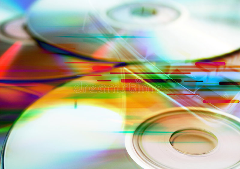 Compact Discs - CDs Royalty Free Stock Image