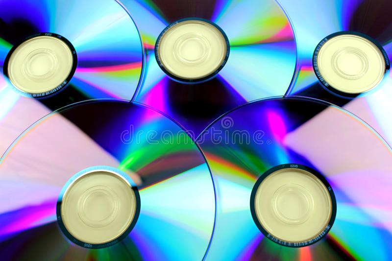 Compact disk - CD stock photo