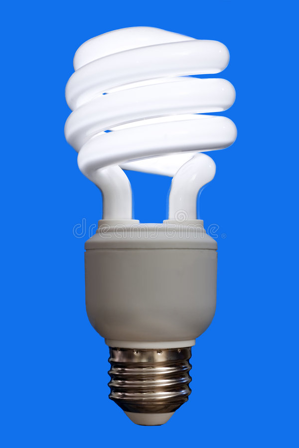 Compact Fluorescent Bulb royalty free stock images