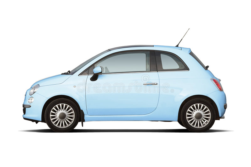 Download Compact hatchback stock image. Image of compact, metal - 7650761