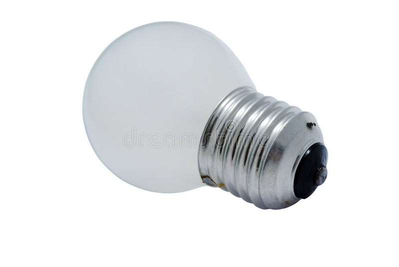 Compact lightbulb royalty free stock images