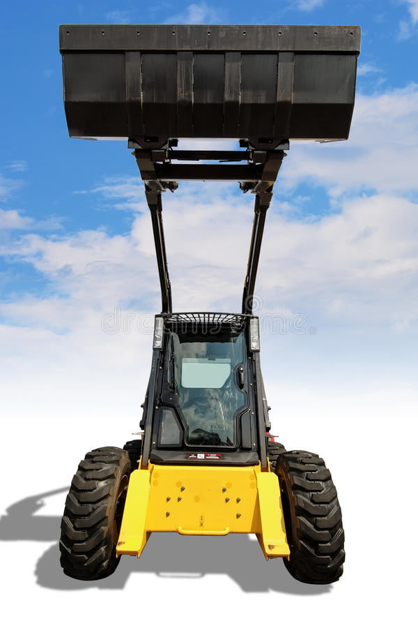 Download Compact loader stock image. Image of heavy, metal, machine - 10284999