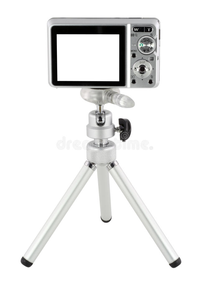 Free Compact On Tripod Royalty Free Stock Images - 13982439