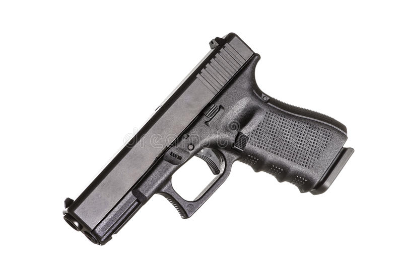 Download Compact Pistol stock image. Image of firearm, caliber - 25870659