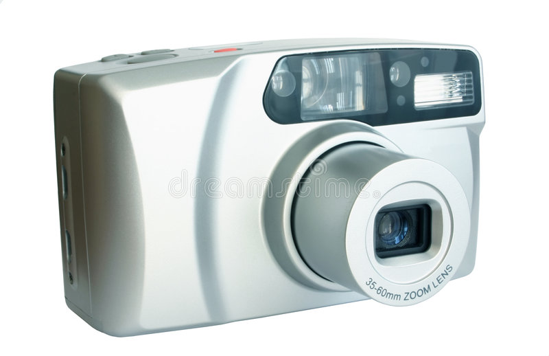 Compacte camera stock fotografie