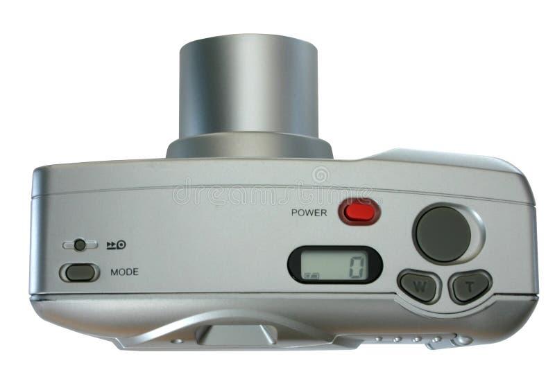 Compacte camera - mening van hierboven stock foto's