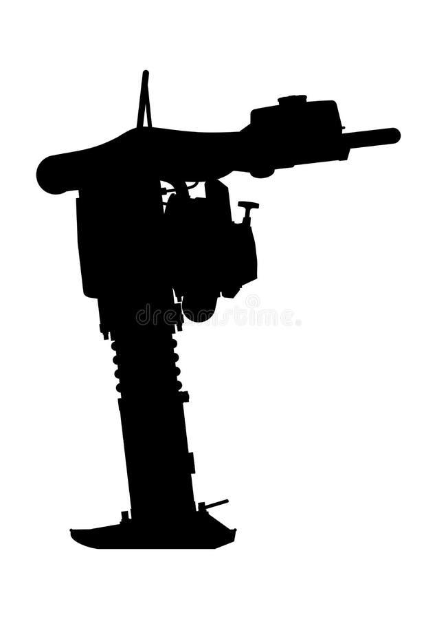Compacteur de pantin illustration de vecteur