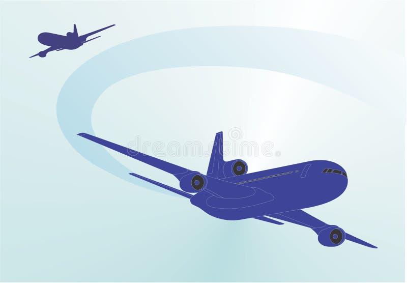 Compagnie aérienne illustration libre de droits
