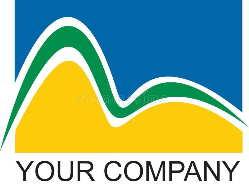 Compagnie de logo de Rio illustration de vecteur