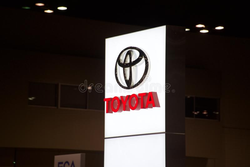 Compagnie de Toyota Motor photos stock