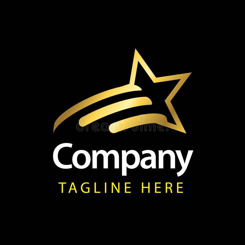 Compagnie Logo Vector Template Design Illustration d'?toile illustration libre de droits