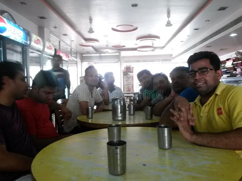 Compagnon d'équipe de cricket photo libre de droits