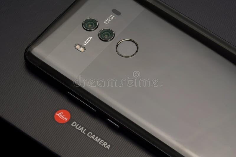 Compagnon 10 pro Smartphone de Huawei images libres de droits