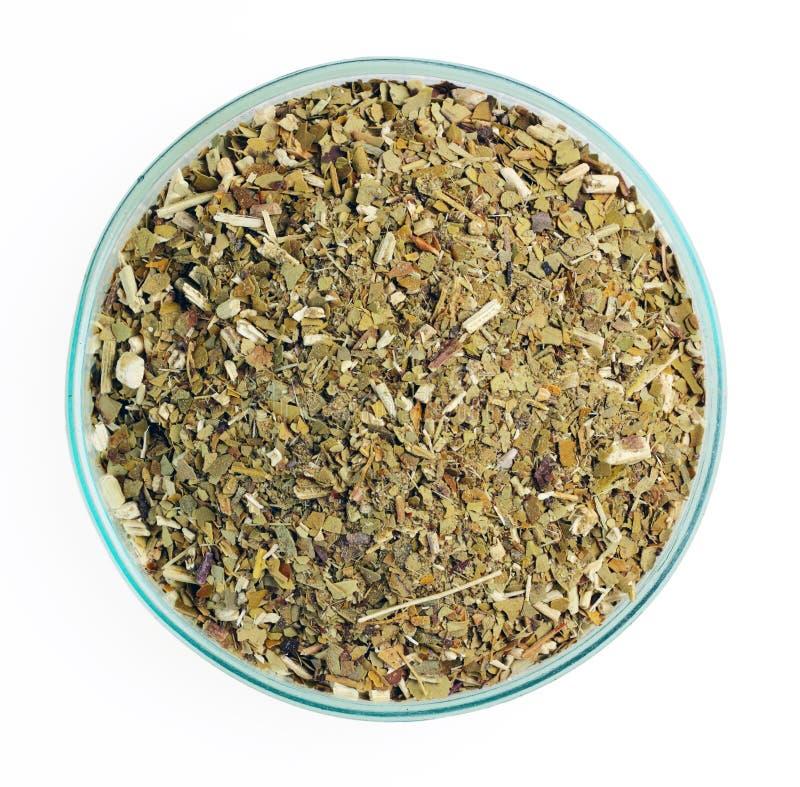 Companheiro de Yerba, chá de Paraguai do aka foto de stock royalty free