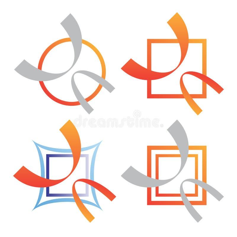 Company Business Logo Set Royalty Free Stock Photo