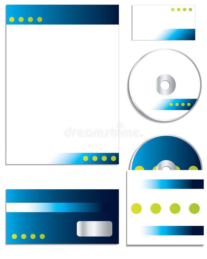 Company business set stock illustration