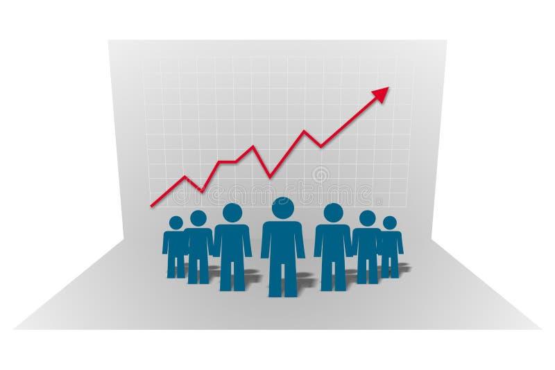 Company chart, vector vector illustration