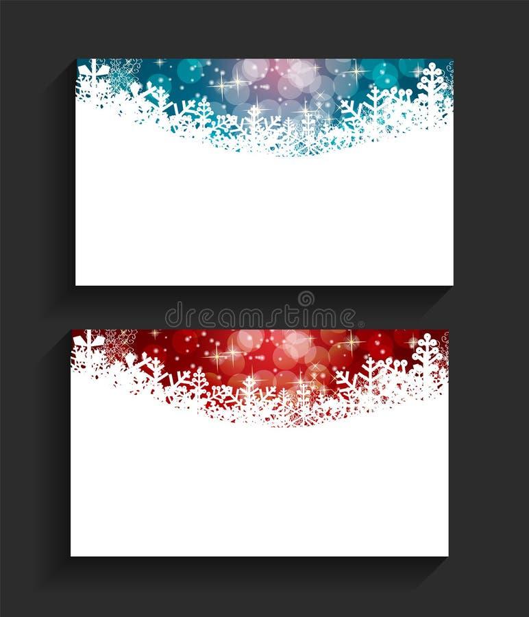 Company christmas business card vector stock vector illustration company christmas business card vector illustration eps10 reheart Images