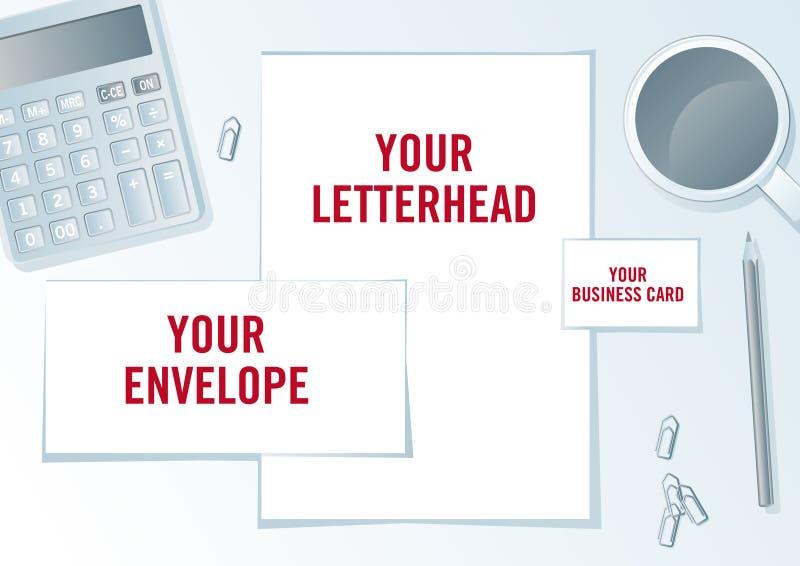 Download Company Identity Presentation Format. Stock Vector - Image: 16715656