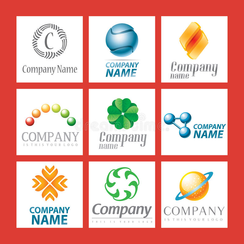 Download Company logo design stock vector. Image of logos, brand - 13941812