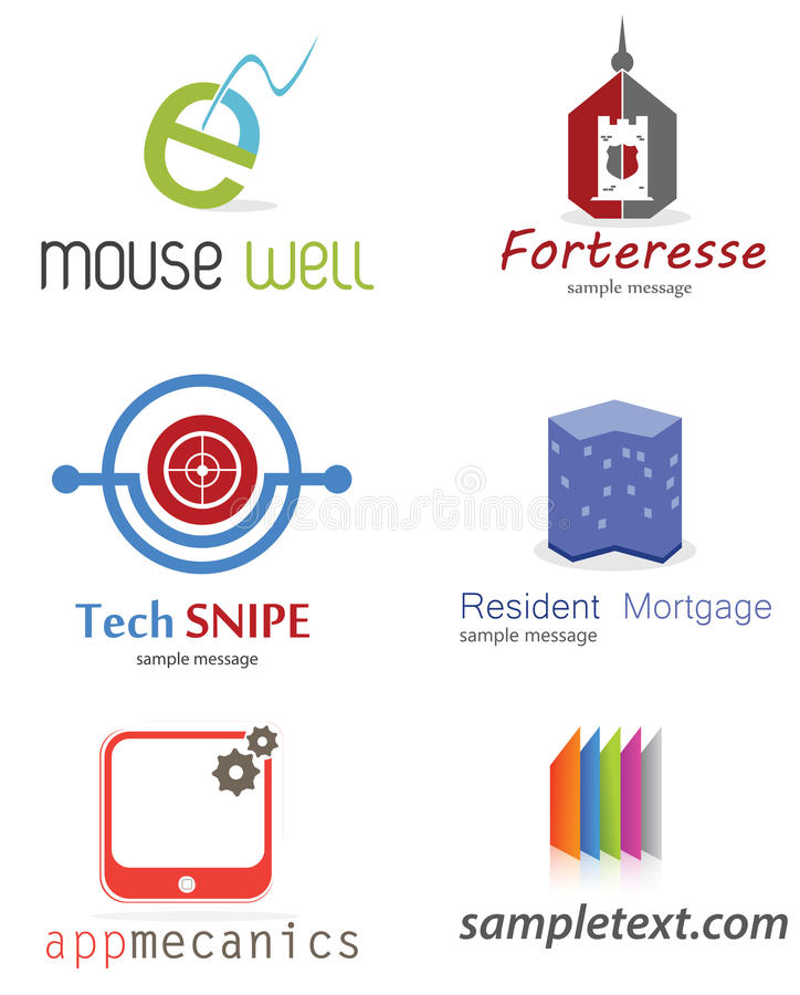 Company Logo. Generic company logo concept ,set vector illustration