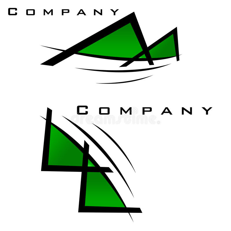Company Logo Pack Royalty Free Stock Photography