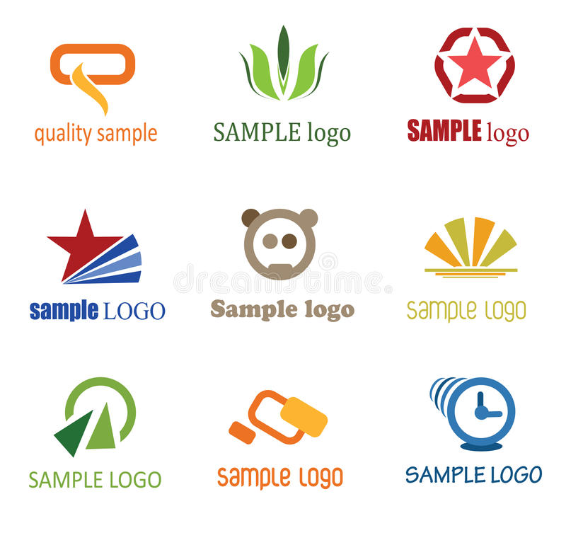 Download Company Logo's stock vector. Image of icon, company, pattern - 26225208
