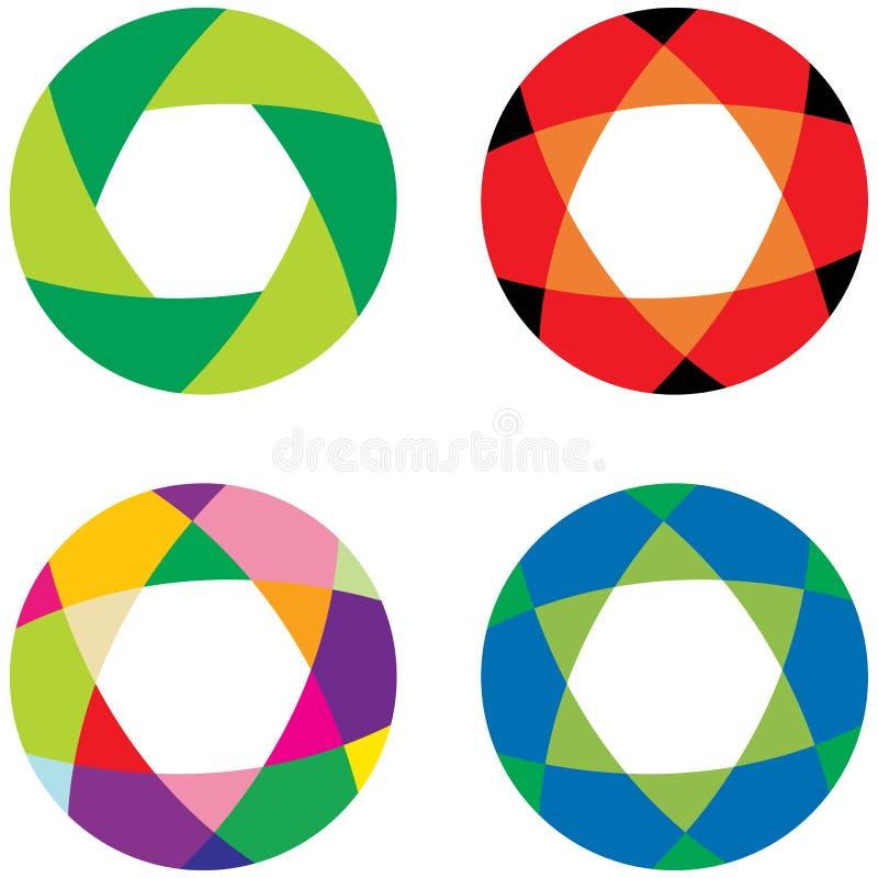 Company logo. Vector illustration of company logo royalty free illustration
