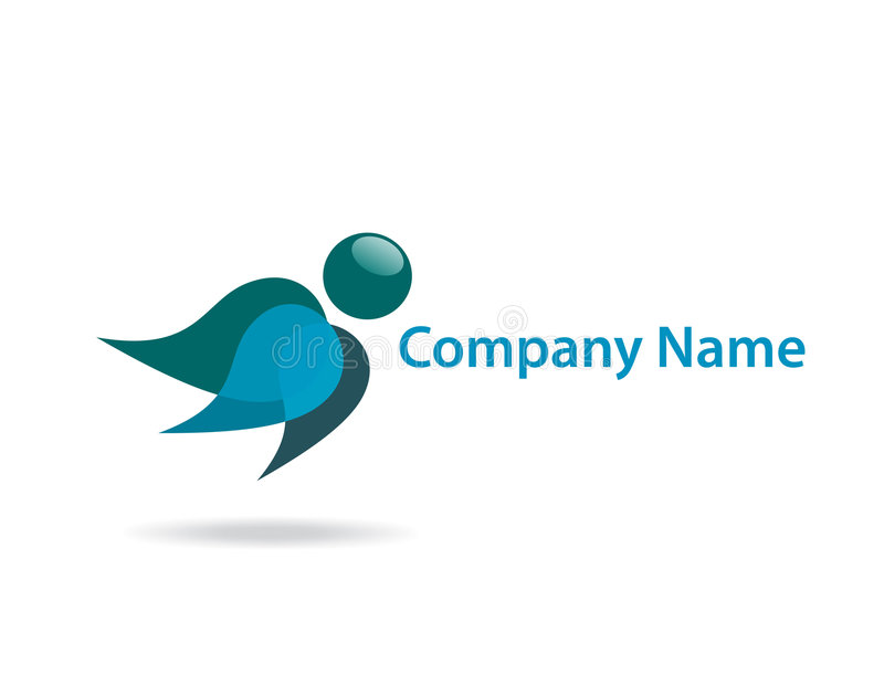 Company name royalty free illustration