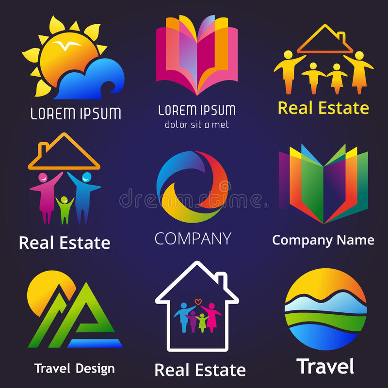 Company Set Stock Vector Illustration Of Banner Idea 63041690