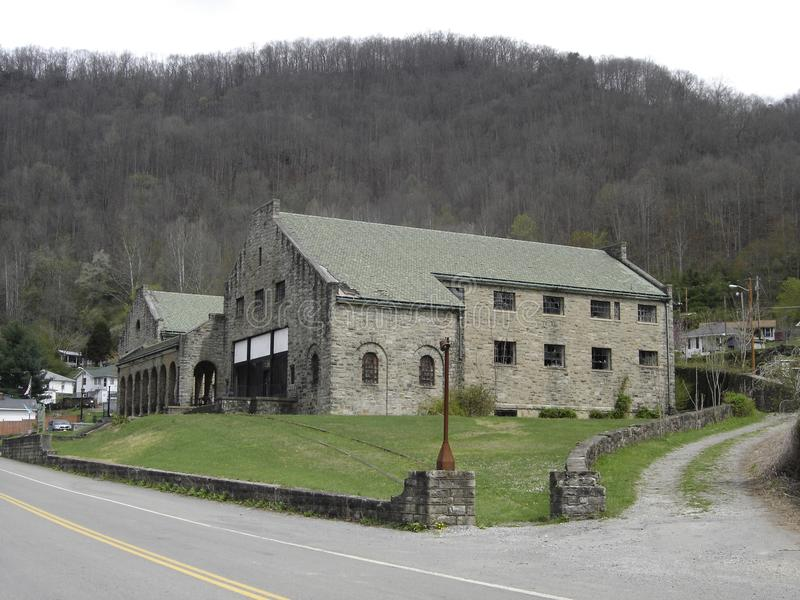 Company store. This company store in the middle of a West Virginia coal camp named Itmann was constructed by the Pocahontas Fuel Company stock photo