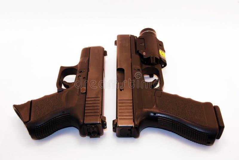 Comparação da pistola